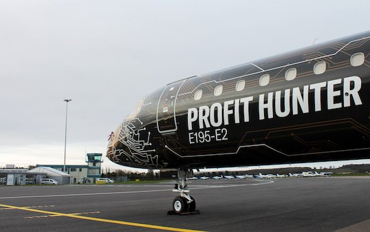 London Oxford Airport welcomes Embraer Profit Hunter