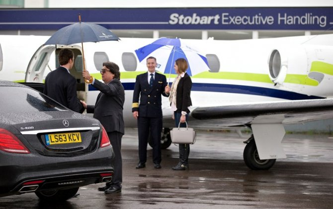London Southend Airport is big hit with high flyers; private jet usage up 25% year on year