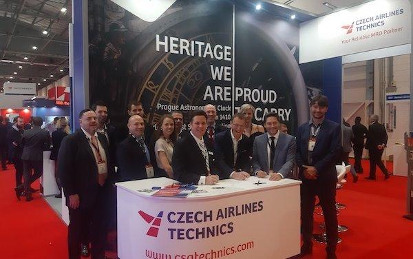 Long term component repair agreement - Czech Airlines Technics & VAS Aero Services