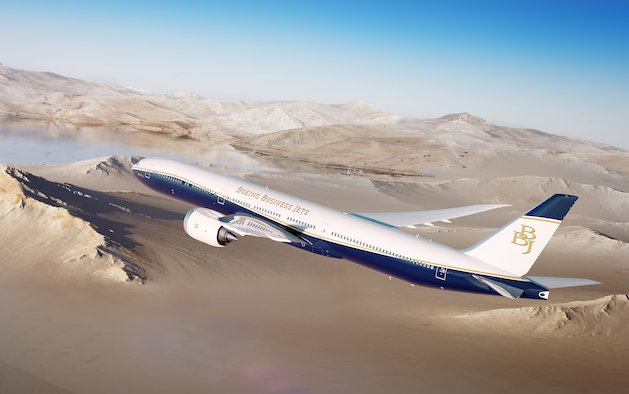 Longest-Range Business Jet Ever with BBJ 777X