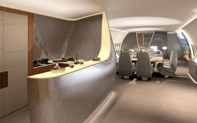 Lufthansa Technik presents interior concept for the A350 VVIP