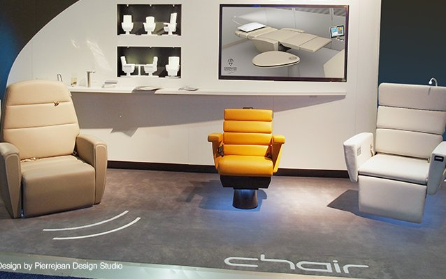 Lufthansa Technik's »chair« aircraft seat ordered by first customer