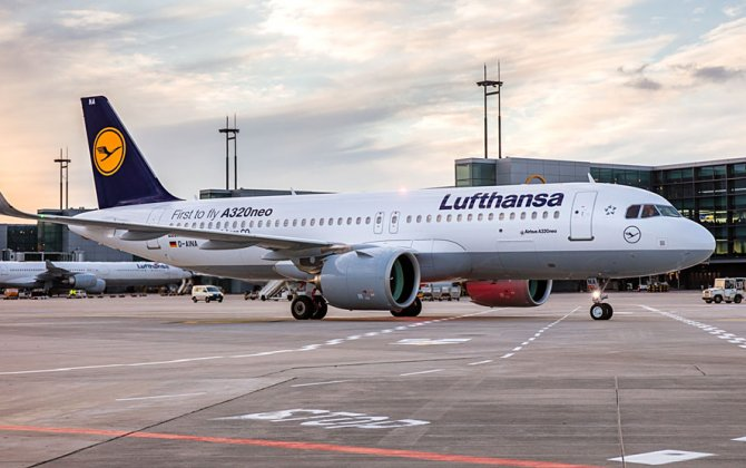 Lufthansa welcomes its fifth A320neo into its fleet