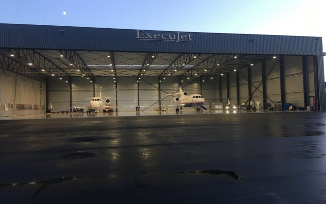 Luxaviation Belgium unveils four million euro hangar at Kortrijk-Wevelgem International Airport