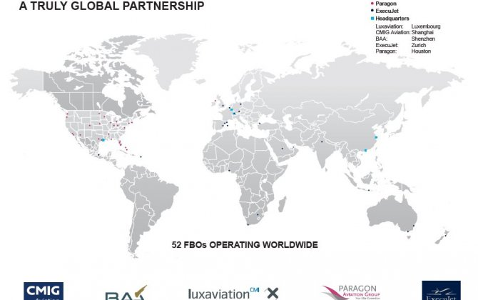 Luxaviation Group enters US FBO market by joining forces with The Paragon NetworkTM
