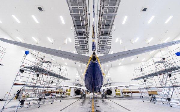 MAAS Aviation opens new world-class aircraft paint shop at Kaunas Airport