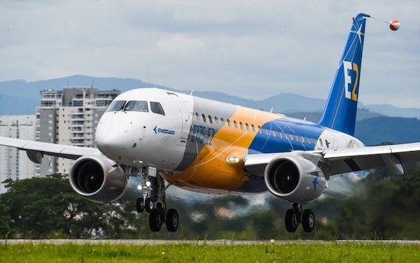 Maiden Flight of E175-E2 Jet Completed