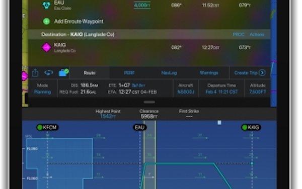 Major upgrade of the Garmin Pilot app