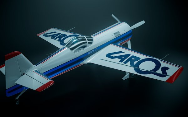 MAKS 2019 - LAROS-31 sports and aerobatic aircraft project to be presented