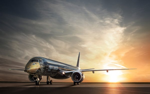 MAKS 2019 - Russian Debut for Embraer's newest and largest ever passenger jet