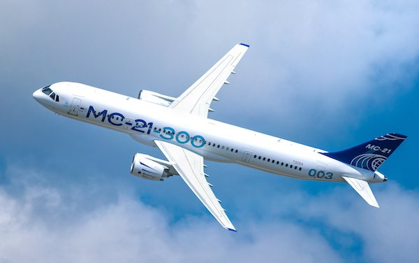 MAKS-2019 - UAC to showcase MC-21 and CR929 advanced commercial aircraft