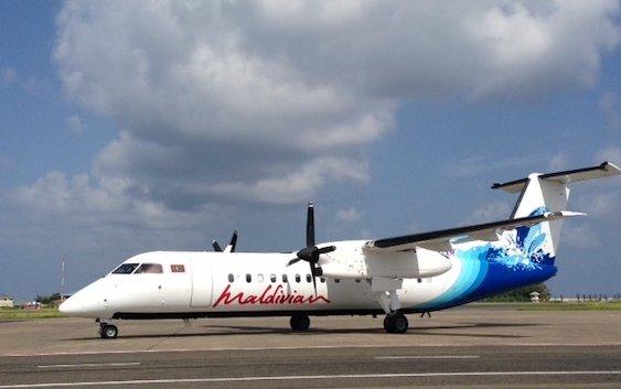 Maldivian signed service agreements with De Havilland Canada