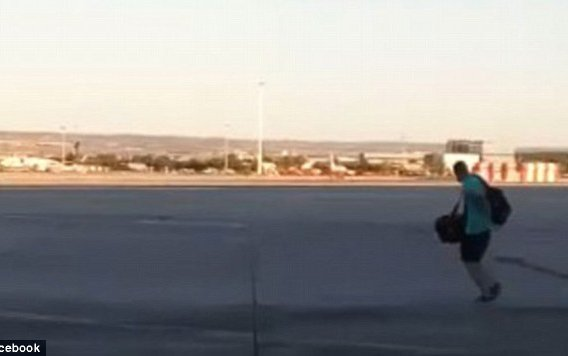 Man arrested after running across Madrid airport tarmac to catch flight