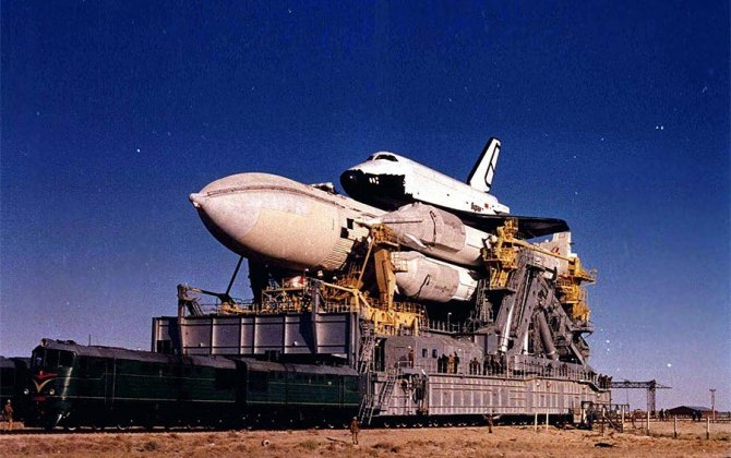 Marks 30 years since the launch of the Buran spacecraft