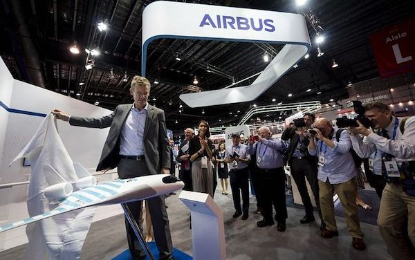 MAVERIC revealed by Airbus - blended wing aircraft demonstrator