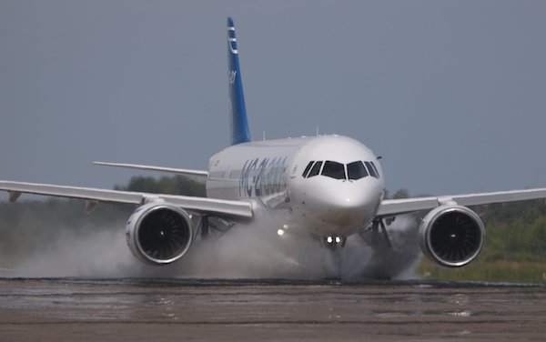 MC-21-300 aircraft engine water protection tests have been started