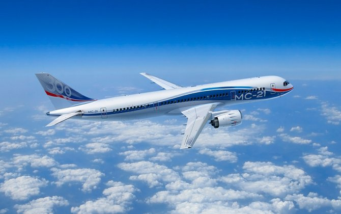 MC-21-300 aircraft undergoes further flight tests in Zhukovsky