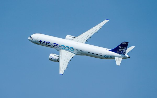MC-21-300 prototype will continue testing after painting