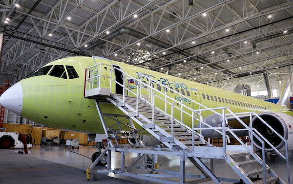 MC-21-300 with PD-14 engine gets ready for the first flight