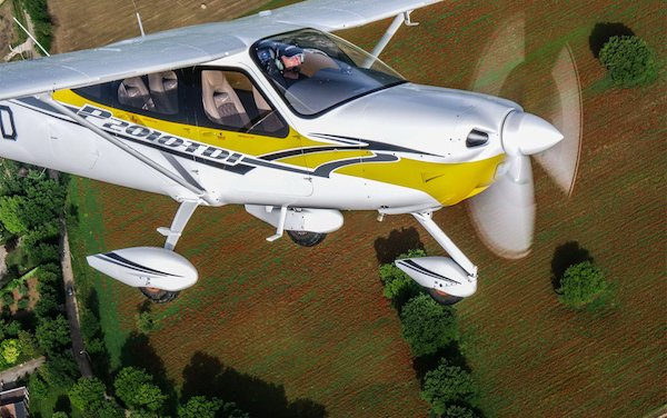 Meet new player on general aviation arena -Tecnam P2010TDI
