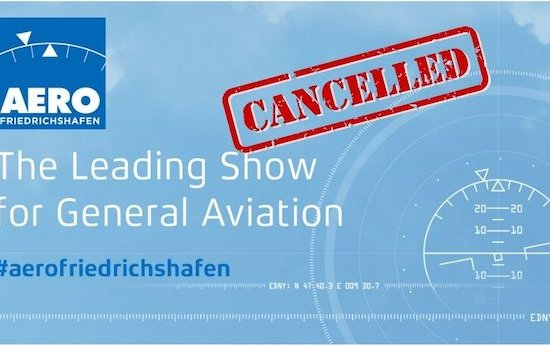 Messe Friedrichshafen cancels AERO 2021 - new edition scheduled from April 27 to 30, 2022