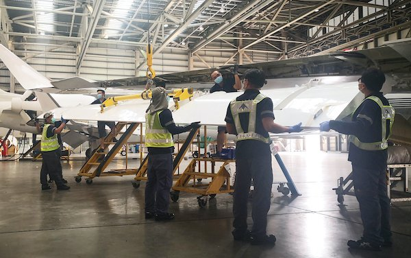 Metrojet completed G650ER 4C inspection during Covid-19