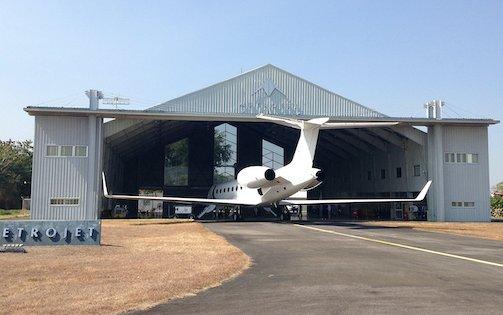Metrojet hangar resolves parking spaces issues in the region