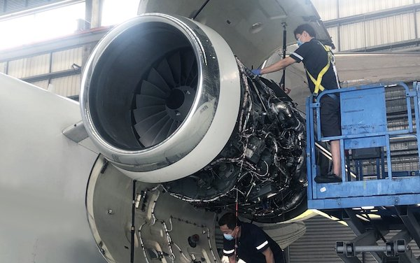 Metrojet HK MRO excels in engine change and aircraft disinfection during corona crisis