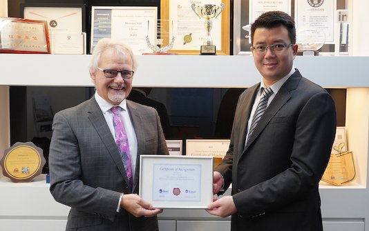 Metrojet ten-year advocacy of International aviation safety standards is recognized by IBAC