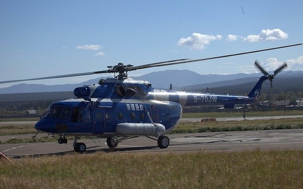 Mi-171 helicopter with the VK-2500-03 engines certified in China