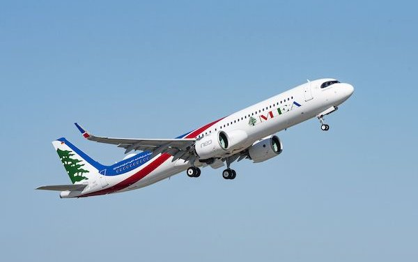 Middle East Airlines took delivery of first A320neo powered by Pratt & Whitney GTF Engines