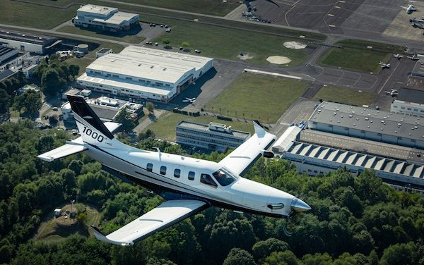 Millennium club goes bigger with the rollout of Daher TBM 1000th airplane