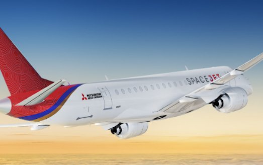 Mitsubishi Aircraft Corporation MOU with Mesa Airlines for 100 SpaceJet M100 Aircraft