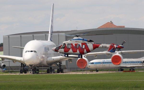 Modernized Ansat concept presented at Paris Air Show 2019