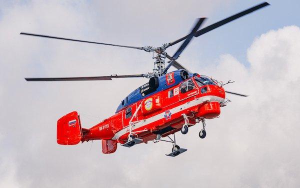 Modernized Ka-32A11M to be presented at MAKS