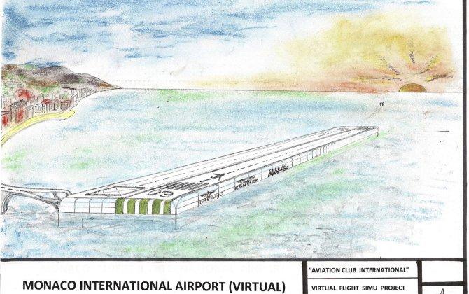 Monaco Airport : A Jetset requirement !