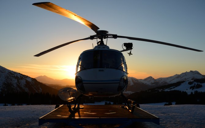 Mont-Blanc Helicopteres - special team in the mountains
