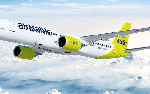 More destinations with airBaltic: Amsterdam, Vienna, Hamburg, Dusseldorf and Paris