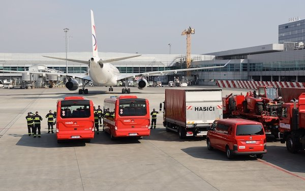 More than 40 special cargo flights were handled by Václav Havel Airport Prague