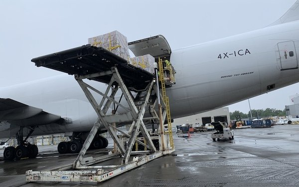 More than 400 tonnes of aid to South Sudan from Air Partner's Freight division
