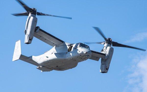 More than 500,000 Flight Hours for Bell Boeing V-22 Osprey Fleet