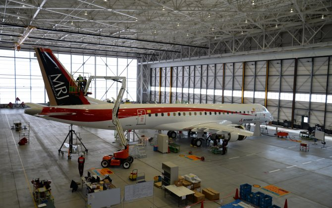 MRJ FTA-2 prepares for May flight