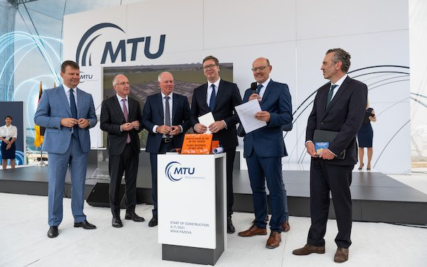 MTU expands its MRO network with a new site in Serbia