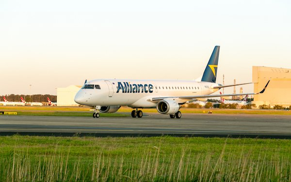 Multi-year service agreement -Embraer & Australia-based Alliance Airlines