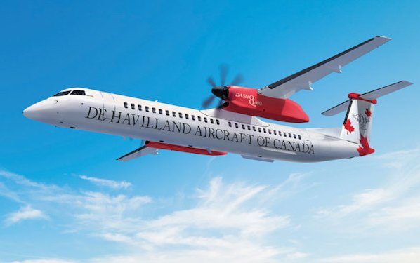 NAC to be first customer for Dash 8-400 classic overhead bin extension