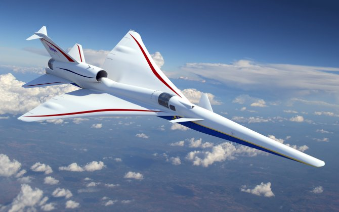 NASA Selects Lockheed Martin Skunk Works® to Build X-Plane