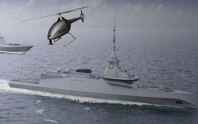 Naval Group and Airbus Helicopters responsible for building the first demonstrator of a rotary-wing drone for a warship