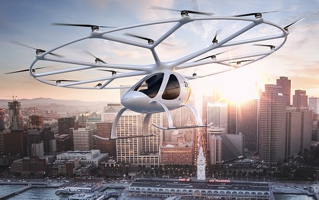 Navigation Solutions For Urban Air Mobility research and development by Honeywell And Volocopter