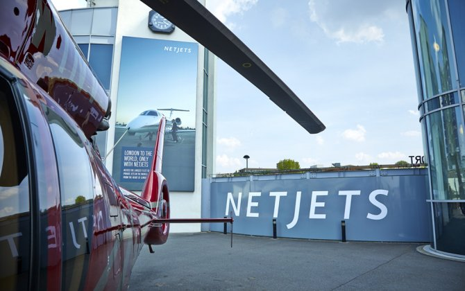 NETJETS EUROPE announces partnership with THE LONDON HELIPORT