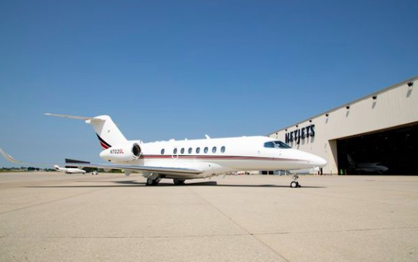 NetJets took delivery of first Cessna Citation Longitude
